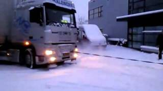 hummer helping to truck
