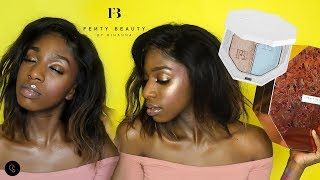 NEW FENTY BEAUTY BEACH PLEASE! COLLECTION FIRST IMPRESSIONS/DEMO