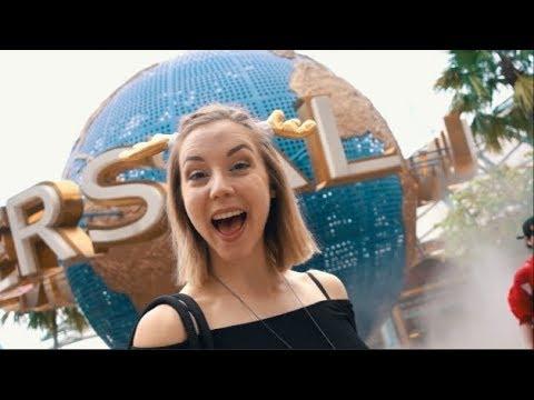 Back At Universal Studios Singapore! // Christmas Edition!