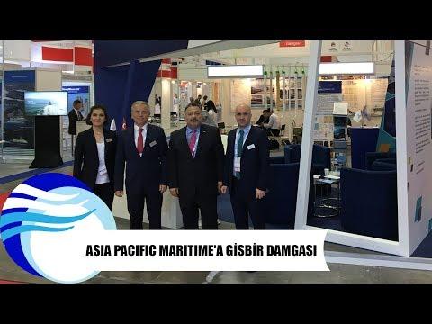 Asia Pacific Maritime'a GİSBİR damgası