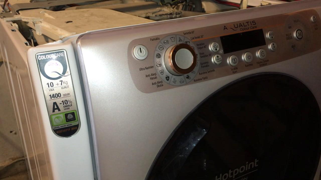 Ariston çamaşır makinası nasıl tamir edilir.