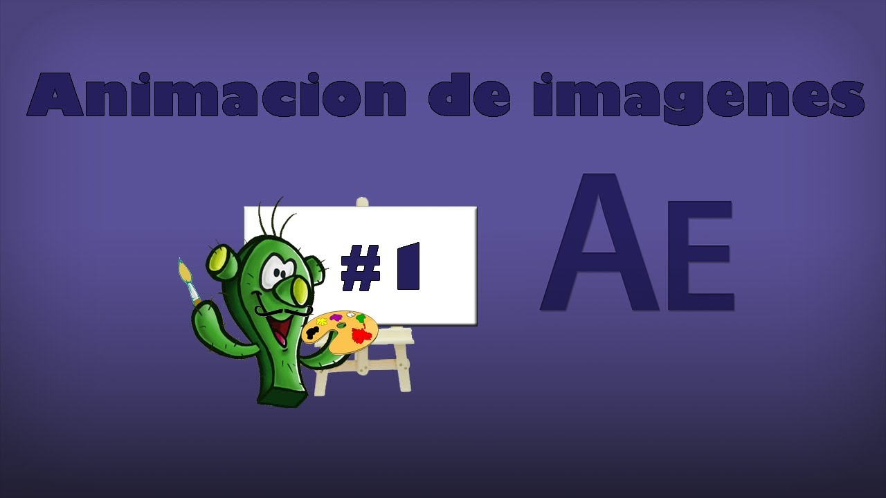 After Effects Movimiento De Imágenes Youtube