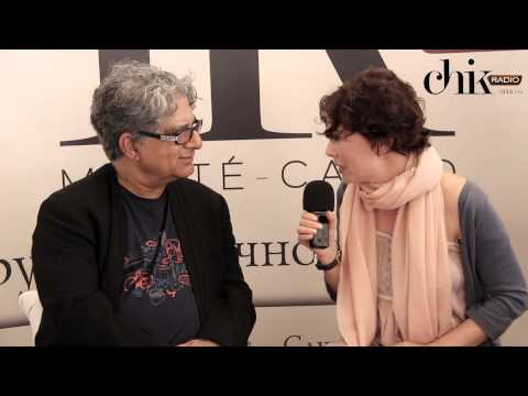 Deepak Chopra and Frederica Bacci