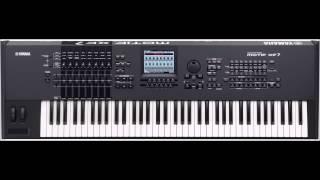 Yamaha Motif XF7   Jean Michel Jarre   Magnetic Fields pt 2