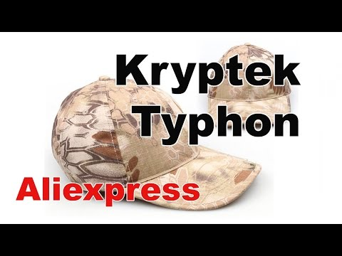 Kryptek Typhon Camouflage Adjustable Baseball Cap