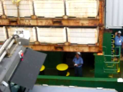 SHIP PULLS INTO #2