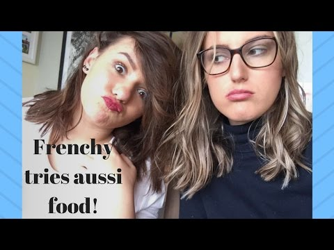 FRENCH TRIES AUSTRALIAN FOOD!