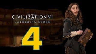 Прохождение Civilization 6: Gathering Storm #4 - Варвары с севера [Швеция - Божество]
