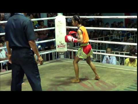 11 year old Female Muay Thai fighter: Mongkunpet Rawai Muay Thai