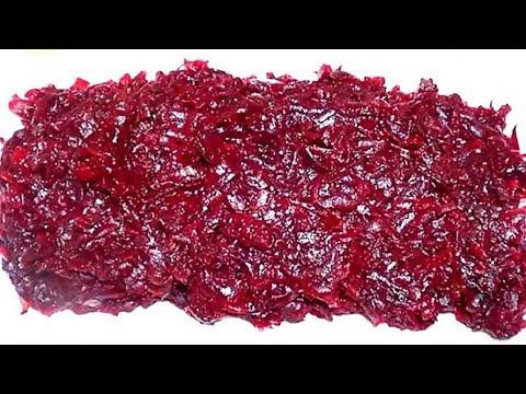 Как вкусно приготовить салат из свеклы вареной