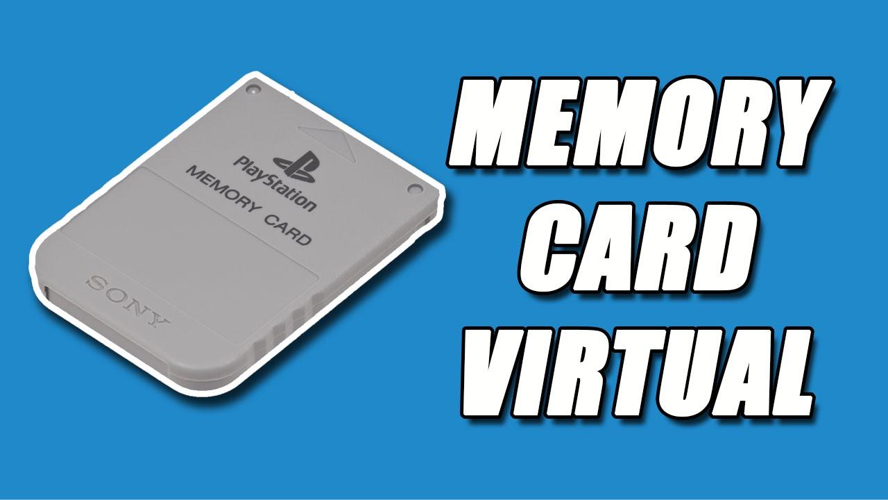 Como colocar um MEMORYCARD virtual no emulador do ps1 (psx)