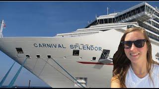 CARNIVAL SPLENDOR CRUISE 2015 (WESTERN CARIBBEAN)