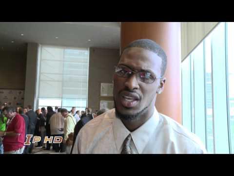 AJ Jenkins Talks Big Ten Media Day 7-28