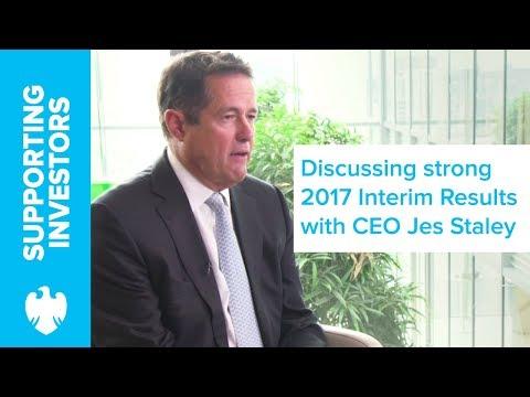 CEO Jes Staley talks 2017 Interim Results | Barclays