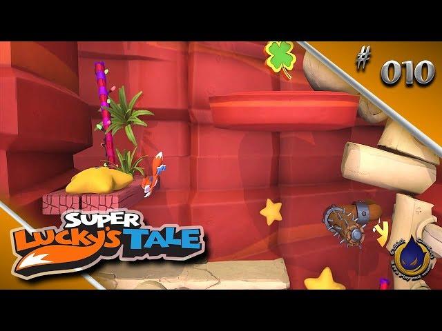 WER HOCH SPRINGT KANN TIEF FALLEN 🍀 Let's Play SUPER LUCKY'S TALE #010