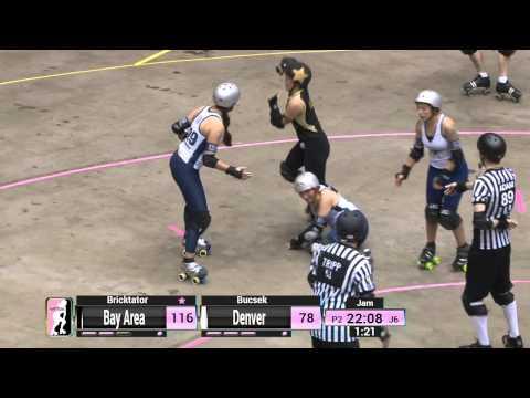 WFTDA Roller Derby: 2014 Championships  Bay Area Derby Girls vs. Denver Roller Dolls