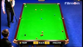 Ronnie O'Sullivan vs Judd Trump - WSC 2013 Semifinal - Final session