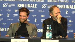 Robert Pattinson and Dane DeHaan Having Fun at LIFE Press Conference BERLINALE 2015