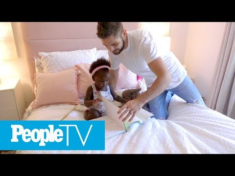 Thomas Rhett & Lauren Akins Give A Tour Of Their Daughters' Nurseries | Hollywood at Home | PeopleTV