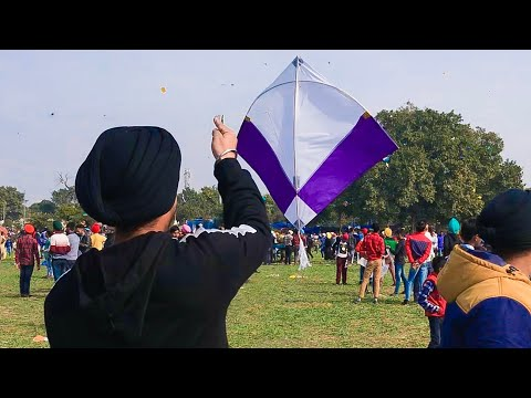 Kites Flying on BASANT || bir ramgarhia