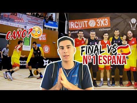 JUGAMOS LA FINAL 3x3 vs EL MEJOR EQUIPO DE ESPAÑA!