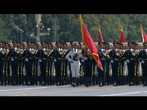 China Holds V-Day Parade in Beijing
