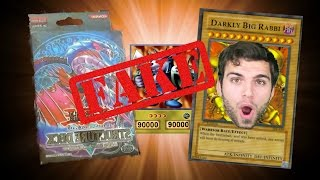 Fake Yugioh Card Box Opening! LOL