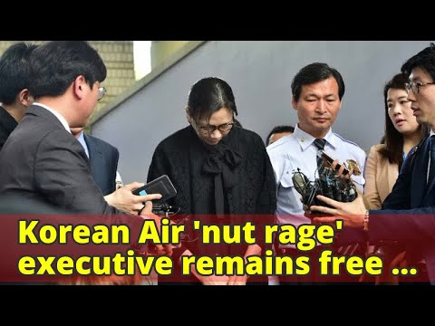 Korean Air 'nut rage' executive remains free after court upholds suspended sentence