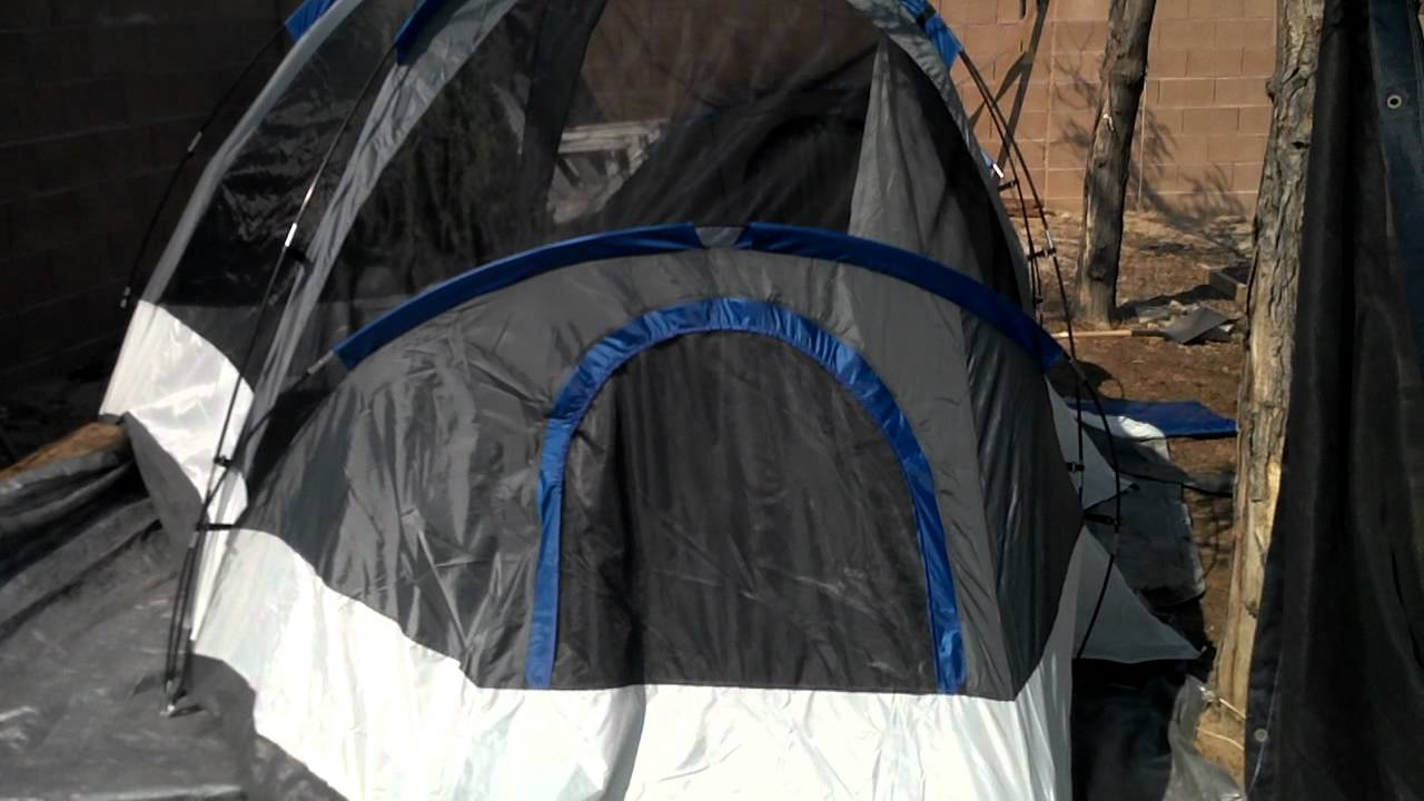 Suisse Sport Wyoming Tent Review 18 August 2012 & Suisse Sport Wyoming Tent Review 18 August 2012 - YouTube