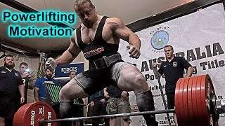 Dan Green Powerlifting Motivation HD- THE ANIMAL  ( The Motivator )