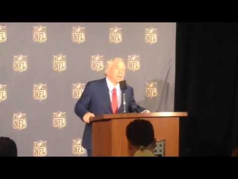 Robert Kraft On Deflate Gate At NFL Meeting