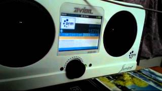 vatican radio drm received on 15775 khz using avion av dr1401 drm receiver with15 feet external wire