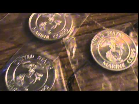 .999 marine corp's silver rounds