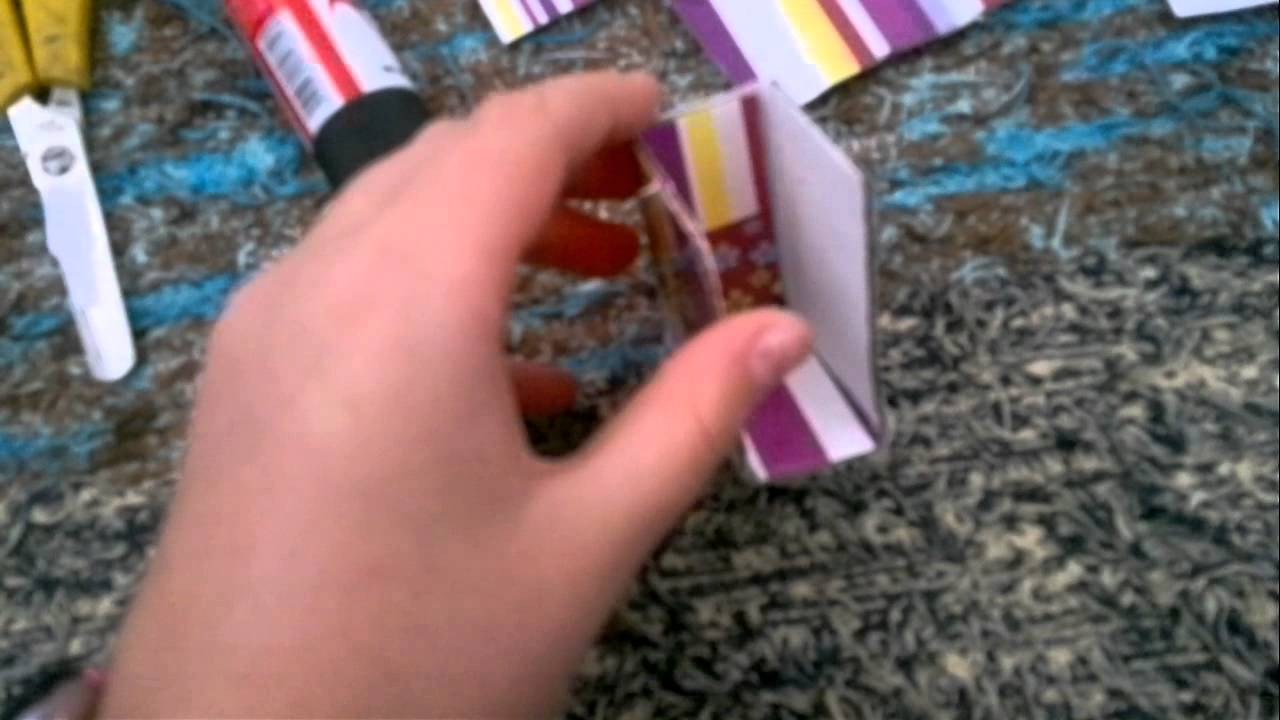 Tutorial de como hacer un libro de papel y cart n facil - Como hacer un libro hueco ...