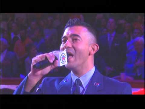 Military Appreciation Night - Color Guard & National Anthem 11/9/15 vs. Memphis