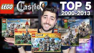 TOP 5 LEGO King's Castle Sets!! 2000-2013