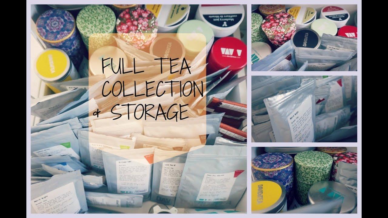 My Tea Collection U0026 Storage