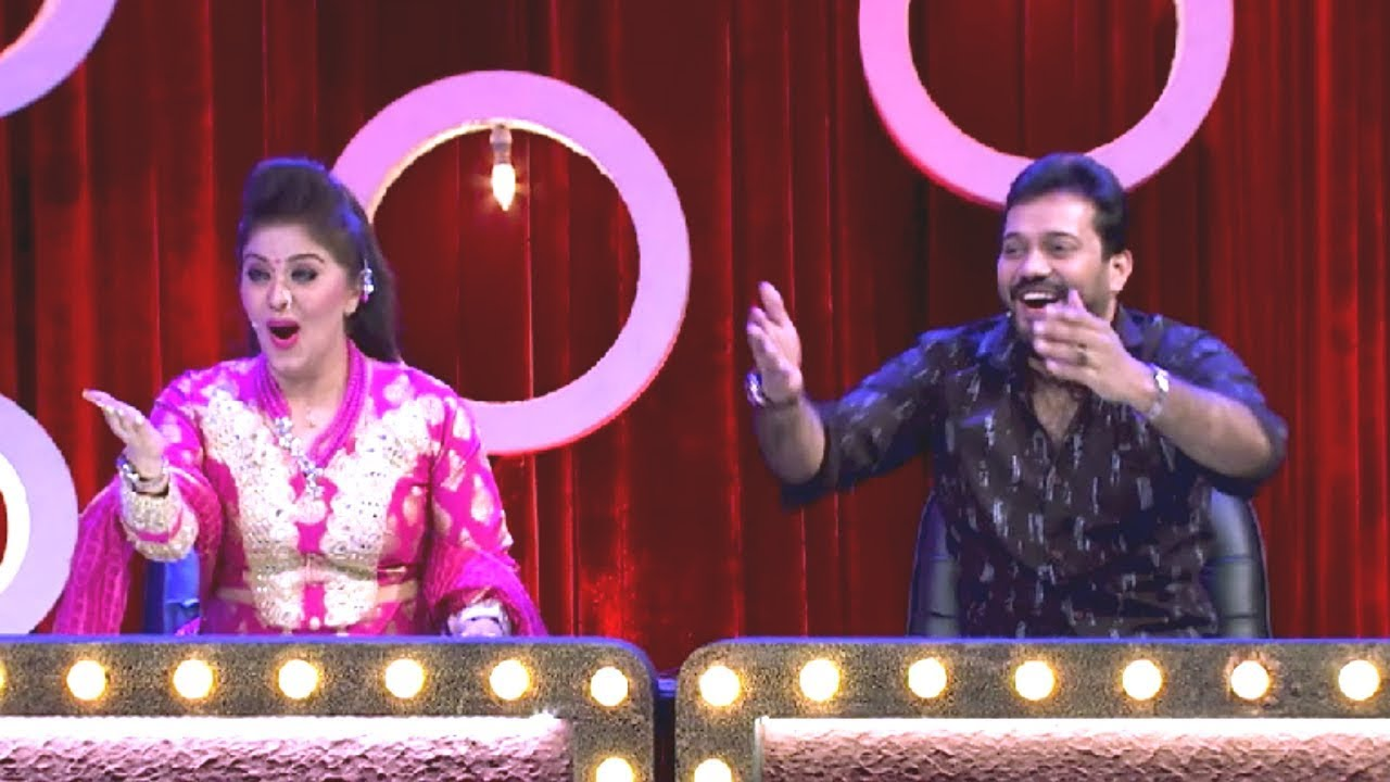 #ThakarppanComedy I Inspirational dancer & actress Sudha Chandran on the floor I Mazhavil Manorama