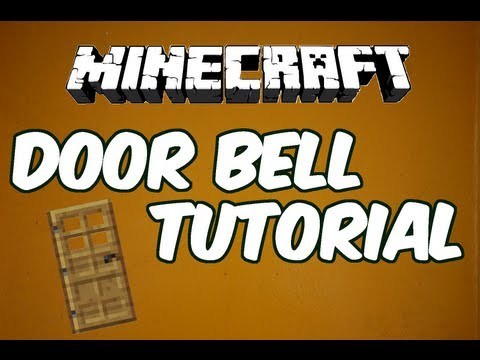 Minecraft 1.11 How to make a Doorbell [TUTORIAL]