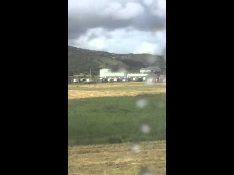 Cruising Past Hewanorra International Airport Terminal, St. Lucia (4);