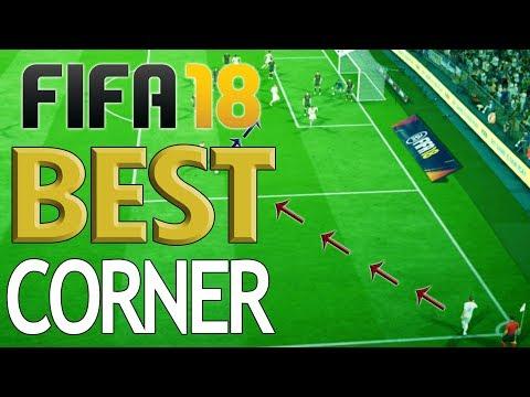 BEST CORNER TACTIC!! – How to Score Every Time - Fifa 18 Corner Kick Tutorial