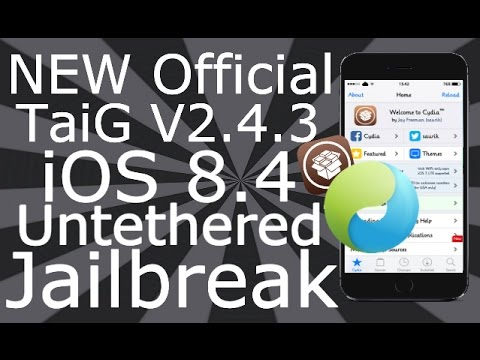 How To Install Cydia Jailbreak iOS 8.1.3 - 8.4 Untethered iPhone