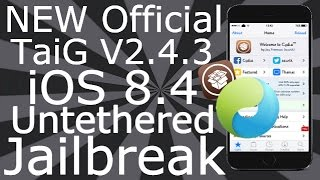 NEW How To Jailbreak iOS 8.4 Untethered iPhone 6, 6 Plus, 5S, 5C, 5, 4S, All iPad Air Mini, iPod T 5