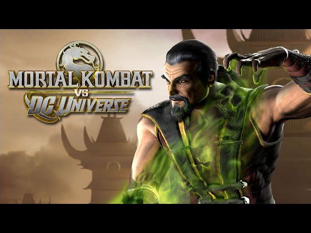 Mk Vs Dc Universe: Zerando Com Shang Tsung No Arcade - (xbox 360)