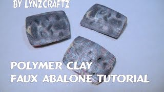 Polymer Clay Faux Abalone Tutorial