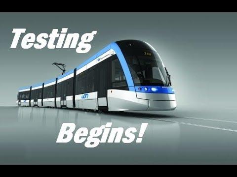 Waterloo Region ION LRT Testing!