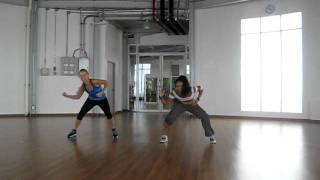 Zumba fitness :Salio el sol : Don Omar choreography  by Zumba hua-hinThailand