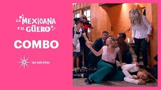 La Mexicana y el Güero: ¡Olinka provoca el accidente de Katya! | C-116 | Las Estrellas