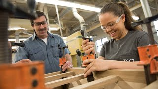 Cabinetmaking and Wood Technology at Thaddeus Stevens College of Technology