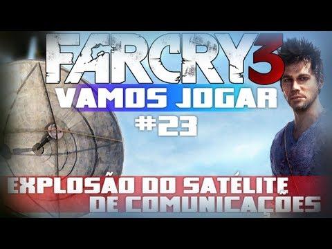 Vamos Jogar Far Cry 3 - Explosão do Satélite de Comunicações - Parte 23
